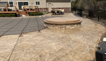 Proper Care & Maintenance Of Stamped Concrete & Exposed Aggregate Surfaces In Oakland County Michigan