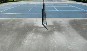 Tennis Court Cleaning Oakland County Michigan