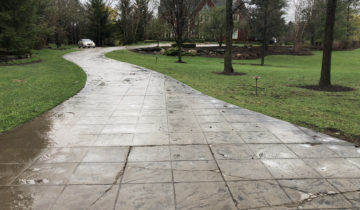 Stamped Concrete Cleaning & Sealing Company In  Michigan