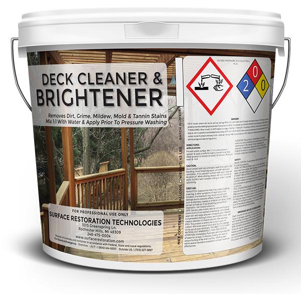 Restore old deck ask home design for Revive deck cleaner