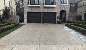 Maintaining Exposed Aggregate Concrete Driveway In Oakland & Macomb County Michigan