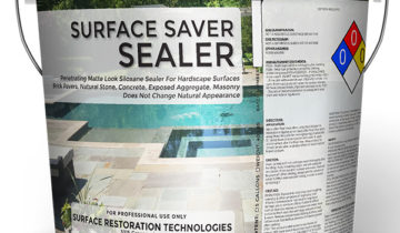 Matte Finish Concrete & Stone Sealer For Driveway's, Walkway's, Patio's, Stone & Brick Masonry