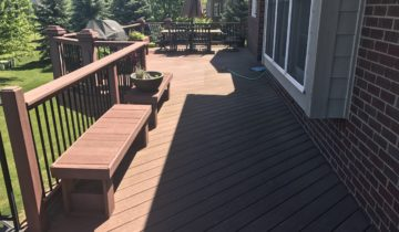 Cleaning Composite Decks In Oakland County Michigan