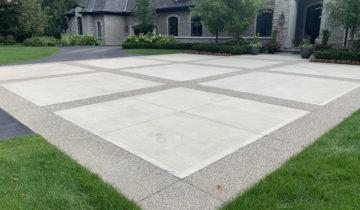 Concrete Pressure Washing & Sealing For Patio, Porch, Driveway, Walkway in Oakland County Michigan