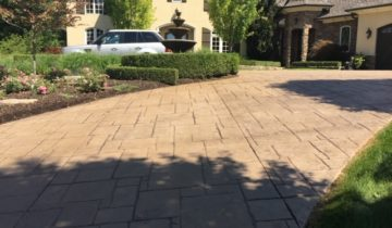 Stamped Concrete Sealing & Power Washing Maintenance & Restoration in Macomb and Oakland County, Michigan