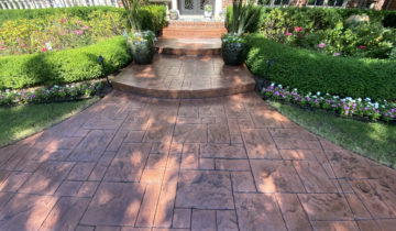 Stamped Decorative Concrete Sealing Specialist in Oakland & Macomb County, Michigan