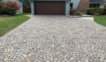Brick Paver Maintenance Cleaning, Polymeric Sand & Sealing Prevents Weeds & Moss in Oakland County Michigan